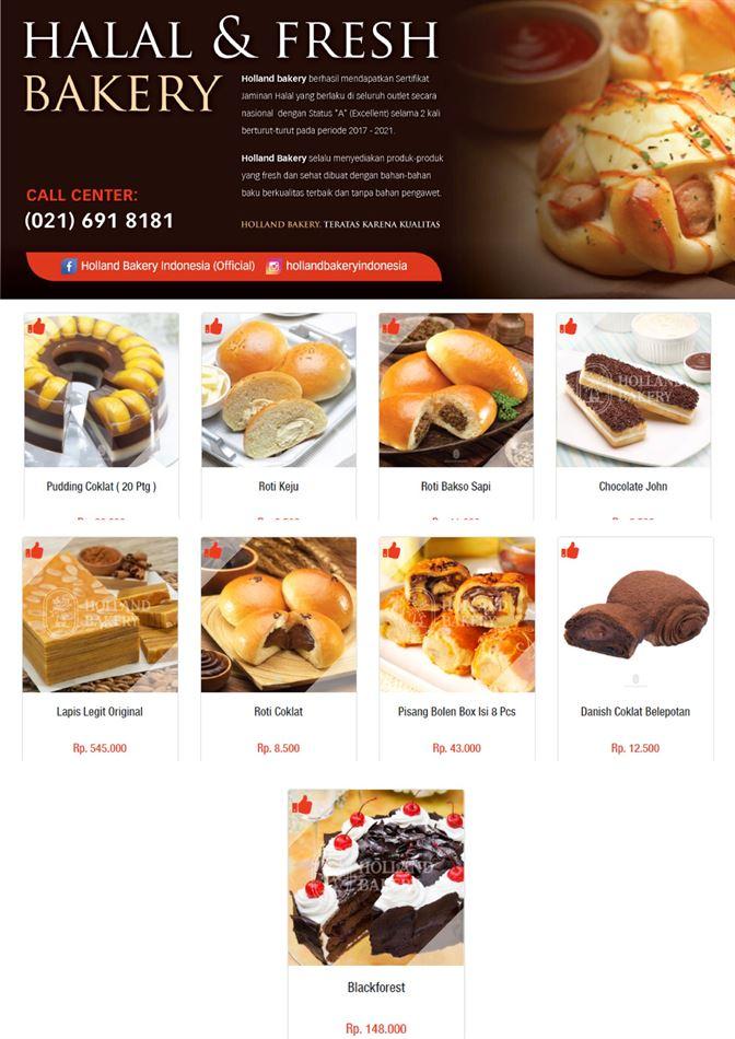 Promo Holland Bakery 1