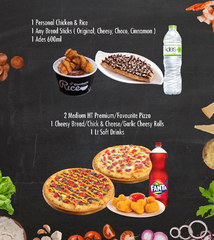 Promo Dominos Pizza Hari Ini Ada Diskon Menarik Untuk Anda Promo Produk