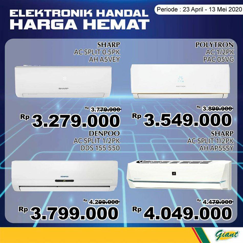 Promo Giant Ekstra Giant Ekstra Elektronik Handal Harga Hemat Hari Ini 6 Mei 2020 Promo Produk