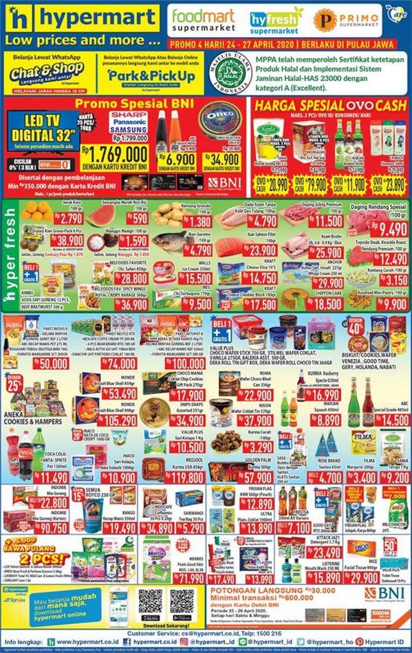 Promo Hypermart Katalog Hypermart Hari Ini 26 April 2020 Promo Produk