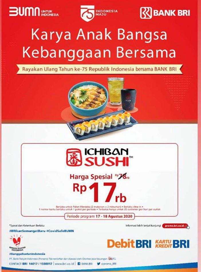 Promo Ichiban Sushi 1