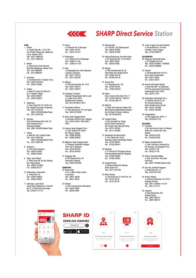 Promo Sharp 23