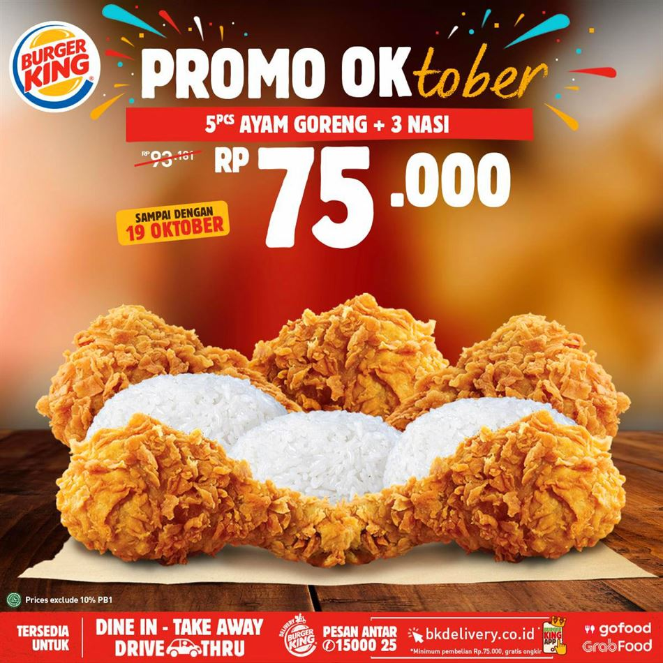 Promo Burger King 2