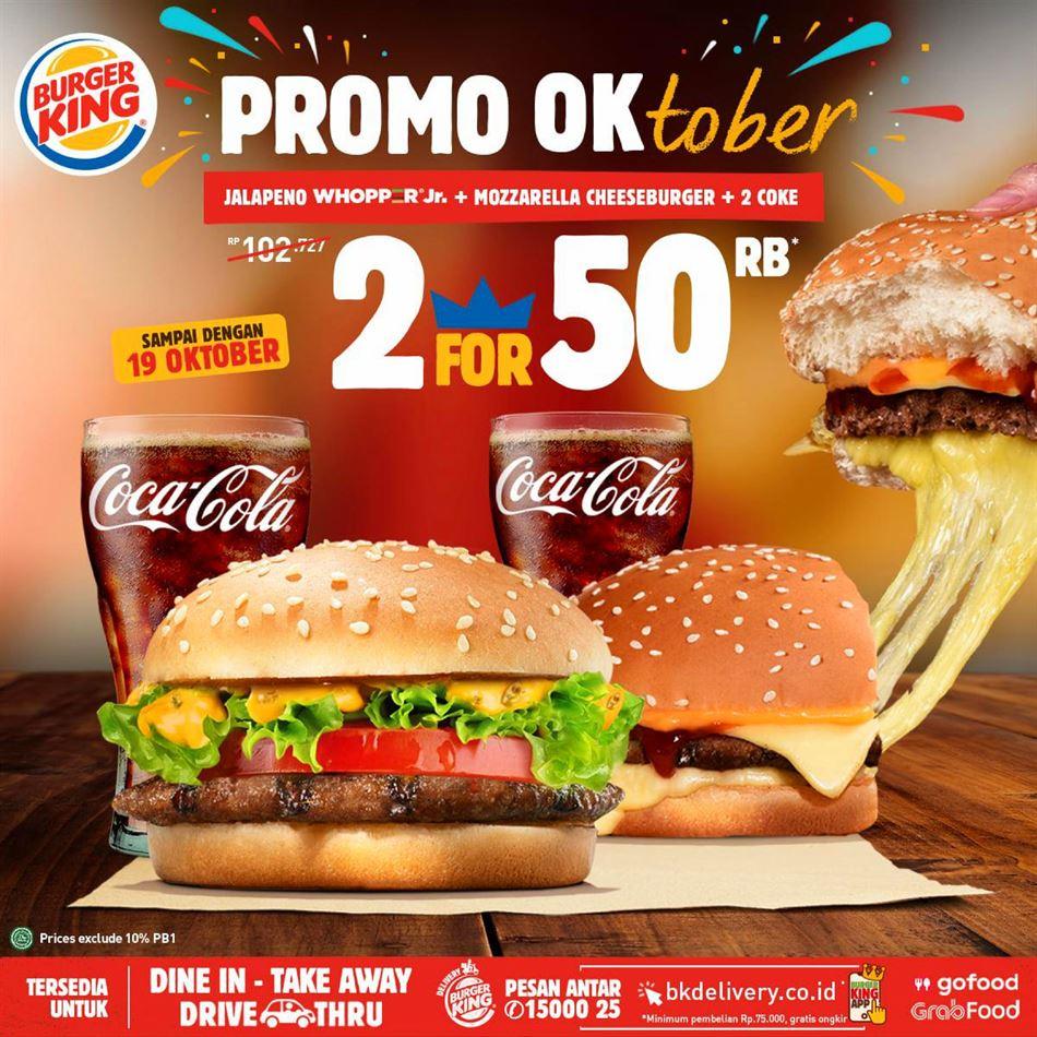 Promo Burger King 4