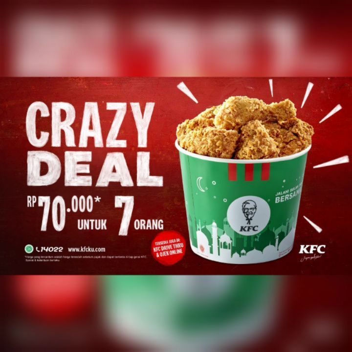 Promo KFC Hari Ini di Instagram, 18 Mei 2020 - Promo Produk